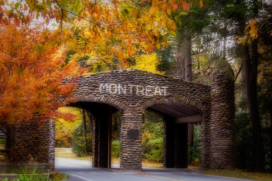 Asheville Photograph - Autumn Gate by Joye Ardyn Durham