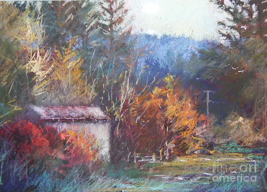 Pamela Pretty Painting - Autumn Glory by Pamela Pretty