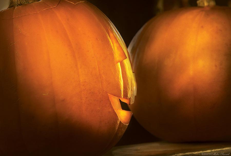 Autumn - Halloween -  Smile If Your Happy Photograph