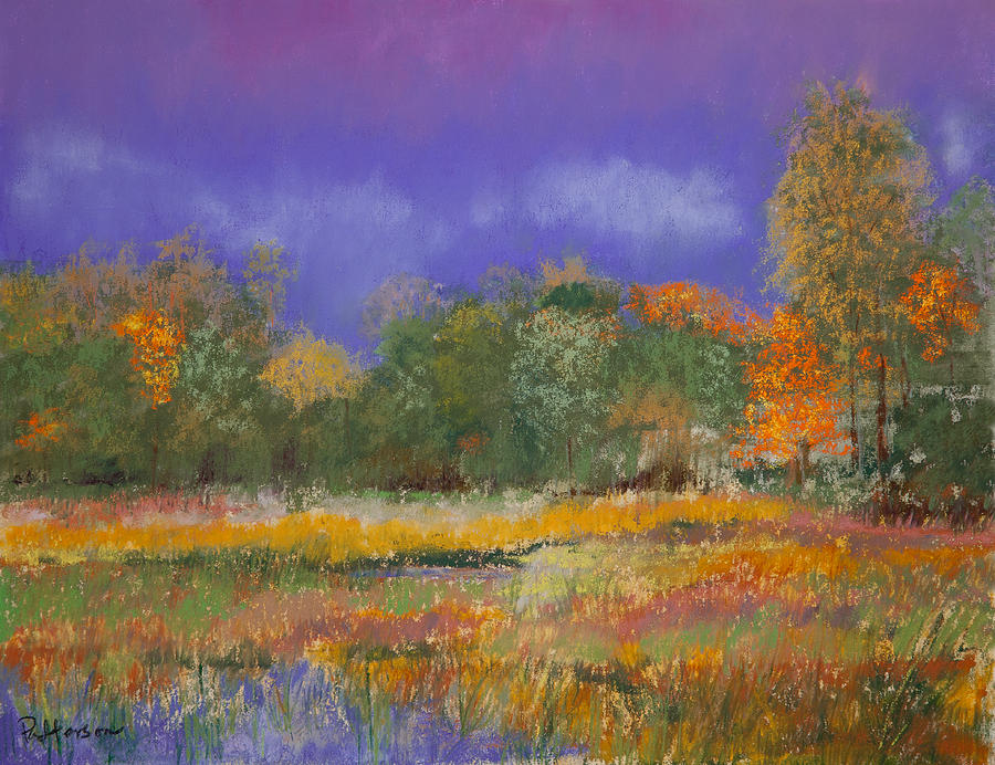 Autumn In Nisqually Painting  - Autumn In Nisqually Fine Art Print