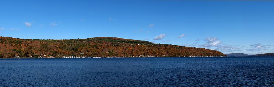 Autumn In The Finger Lakes Photograph