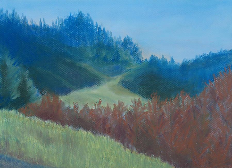 Autumn Landscape Of The Mind Painting