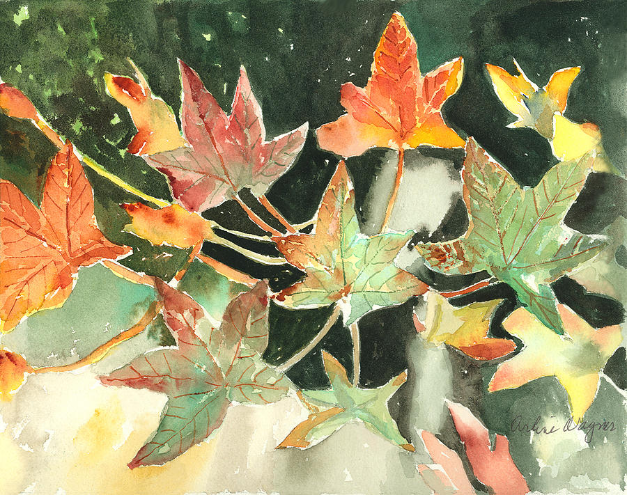 Autumn Leaves by Arline Wagner