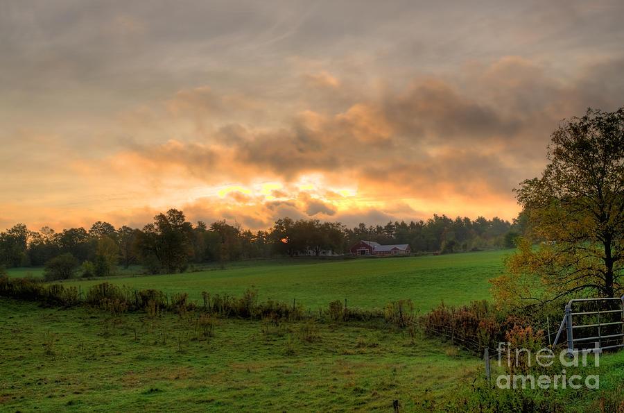 Autumn Morning Photograph
