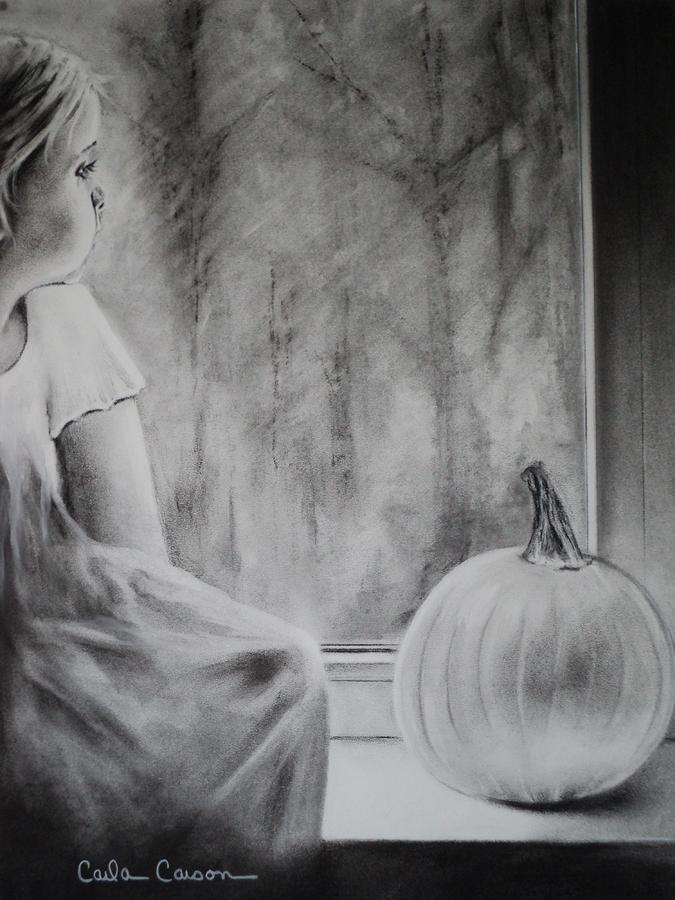 Autumn Rain Drawing