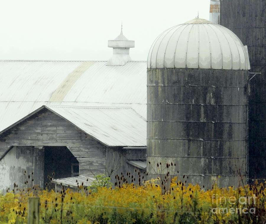 Barn Photograph - Autumn Rain by Joe Jake Pratt
