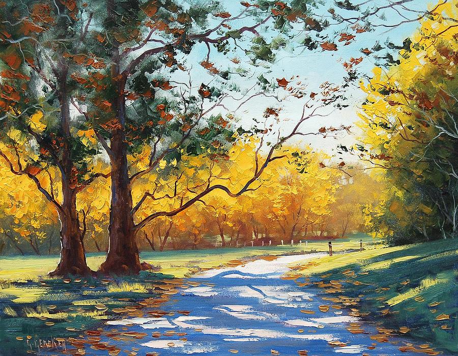 Fall Painting - Autumn Splendor by Graham Gercken