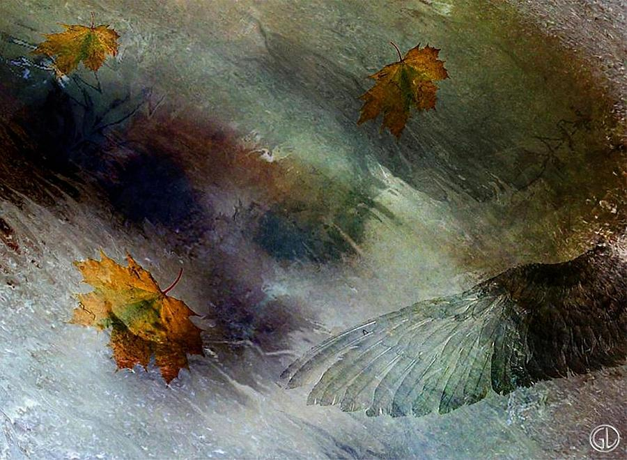 Autumn Storm Digital Art  - Autumn Storm Fine Art Print