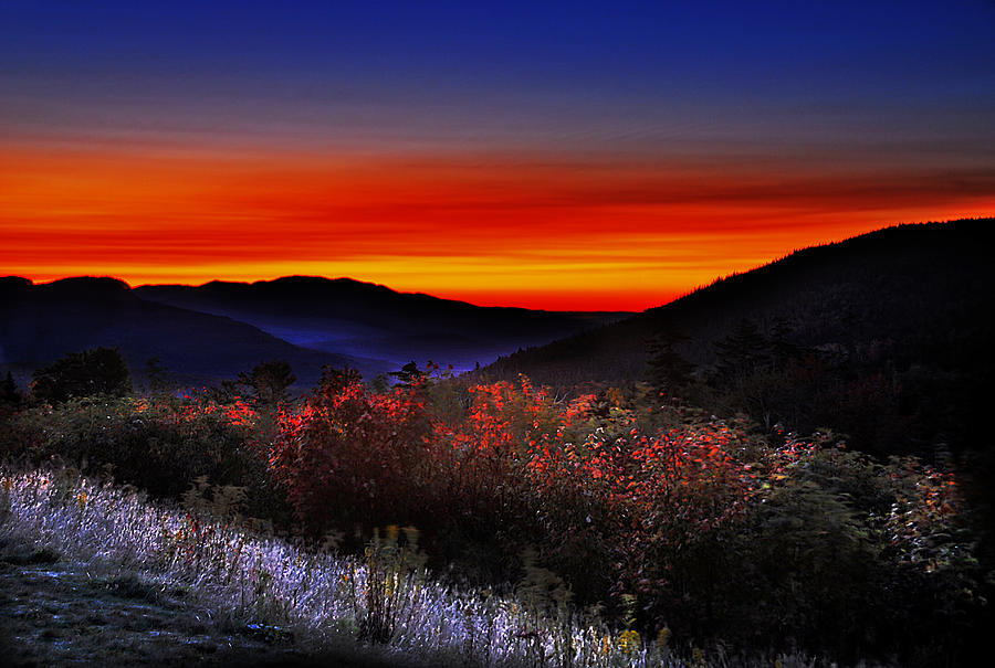 Autumn Sunrise Photograph
