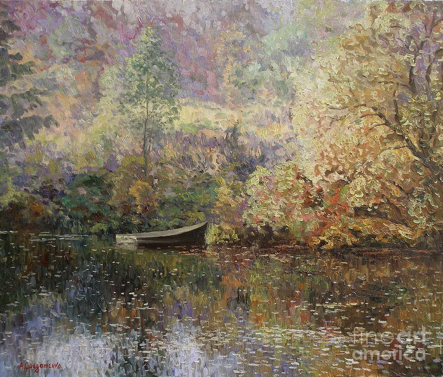 Autumn Tenderness Painting