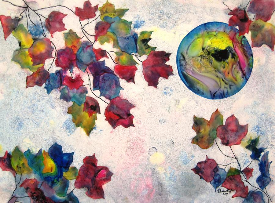 Autumns Jewels Painting  - Autumns Jewels Fine Art Print
