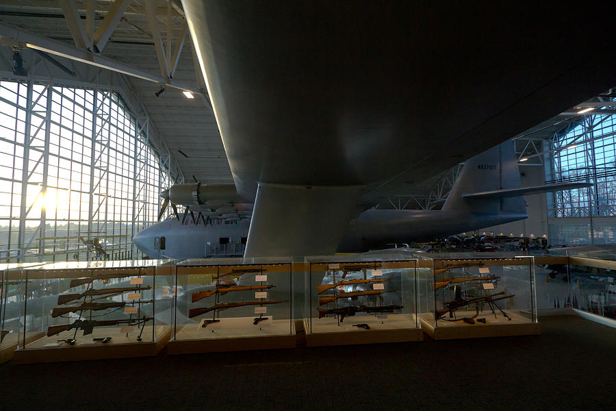 Photograph - Aviation Ingeniousness - Hughes Spruce Goose by Kelly Turnage