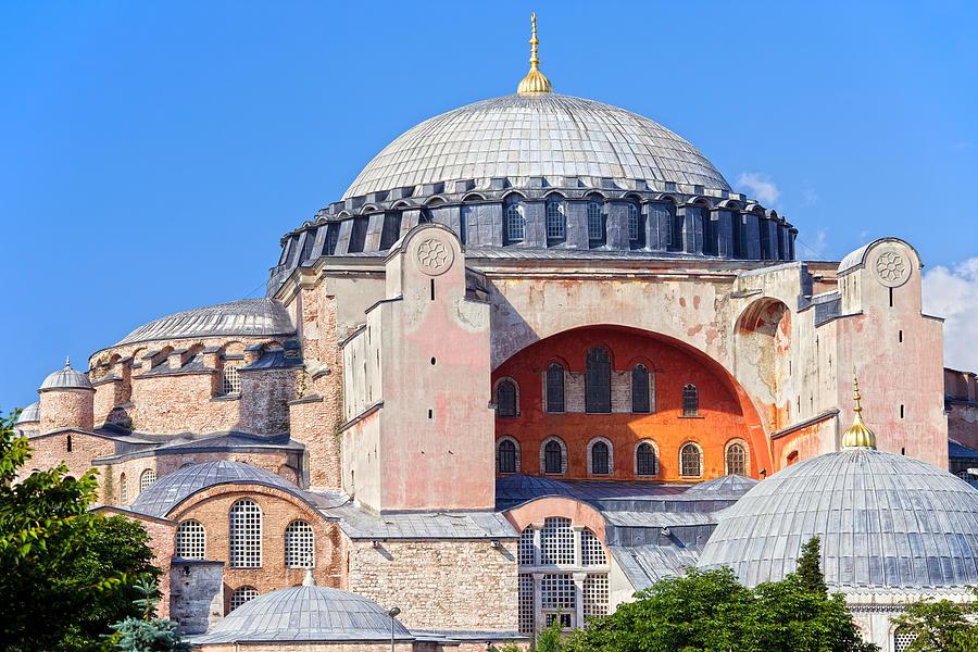 Ayasofya Byzantine Landmark Photograph