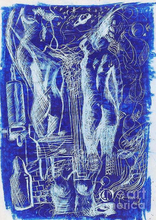 Azul 08 Painting