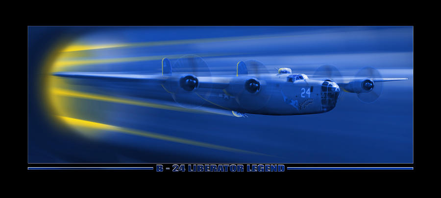 B-24 Liberator Legend Photograph