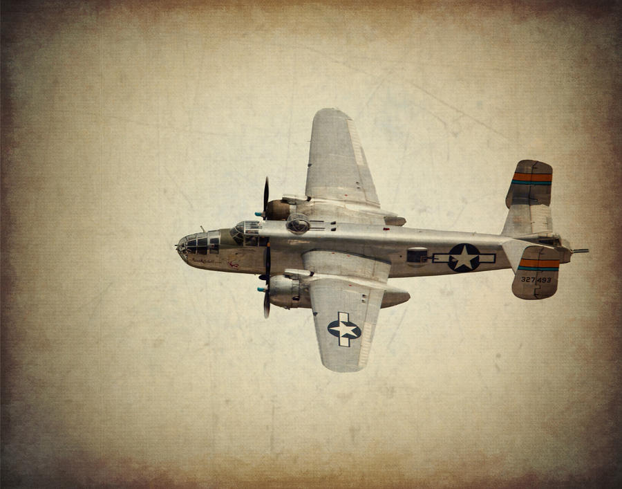 B-25j    Miss Mitchell Photograph  - B-25j    Miss Mitchell Fine Art Print