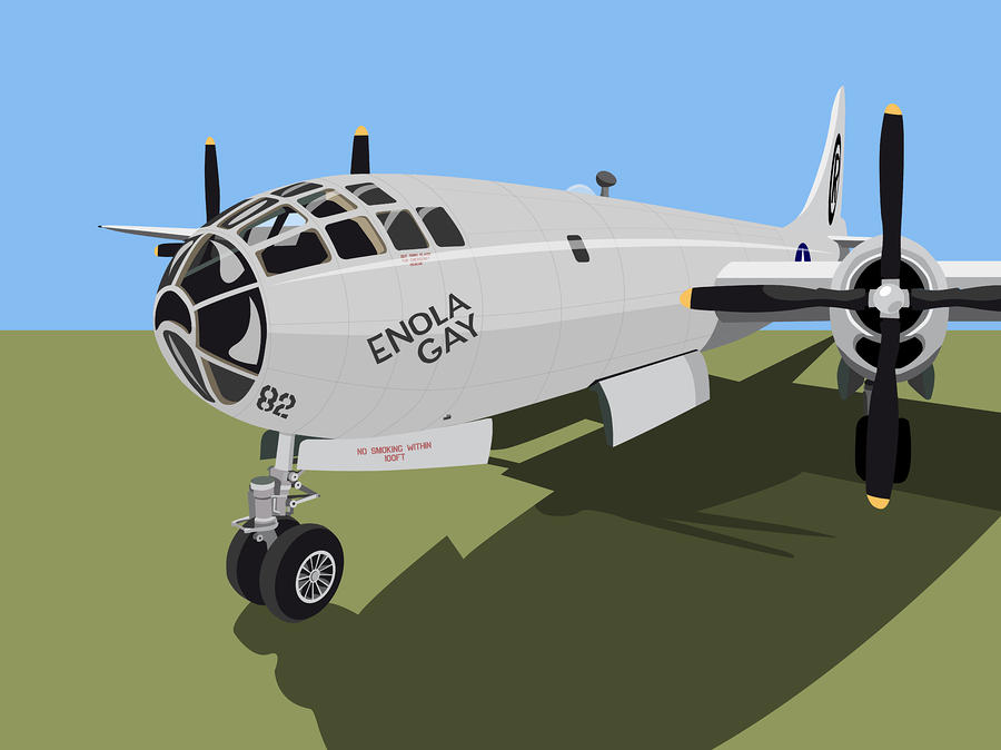 B29 Superfortress Digital Art