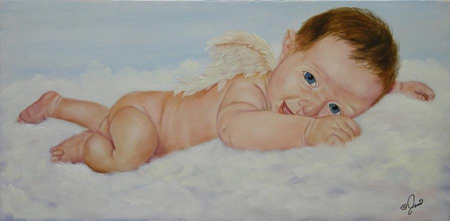 Baby Cupid Painting