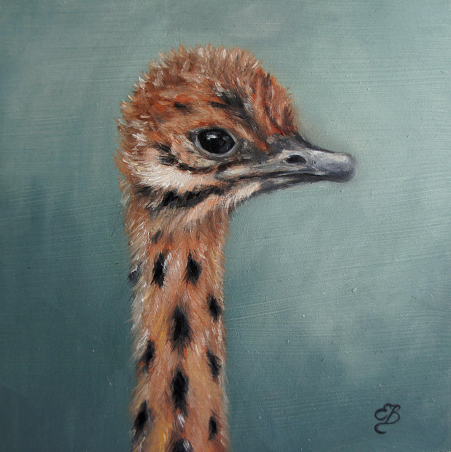 GALLERY: Ostrich Painting