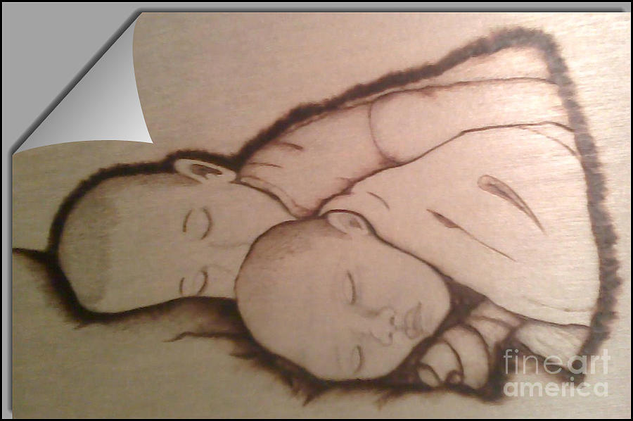 Baby Ruth Pyrography