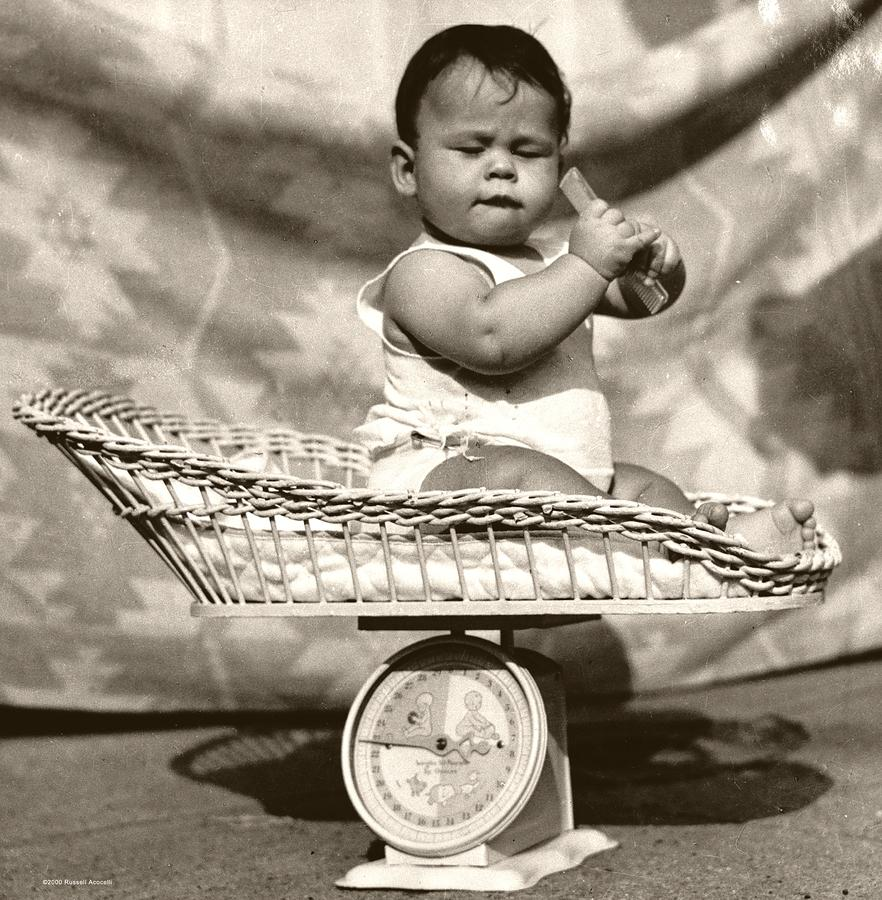 Baby Scale Photograph