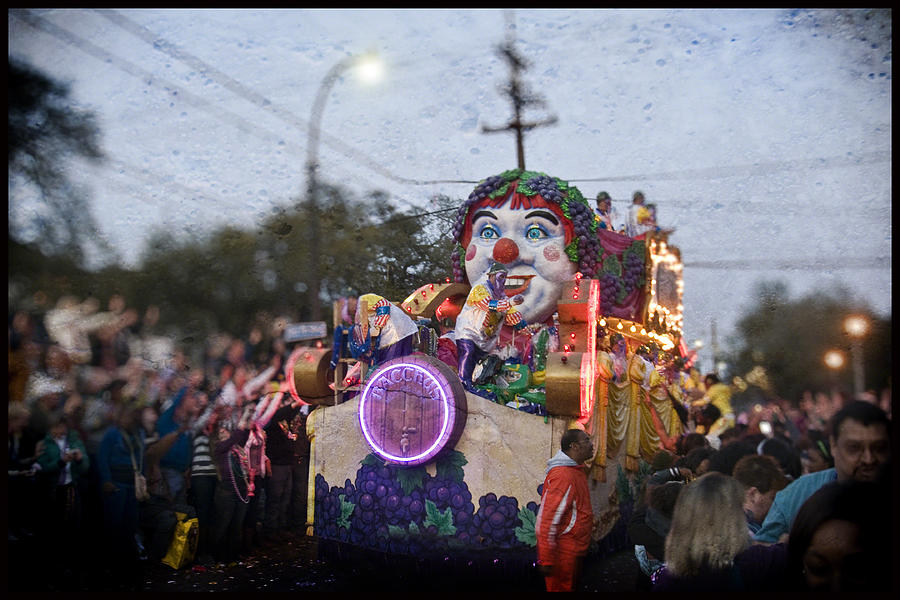 Bacchus In Bokeh Photograph