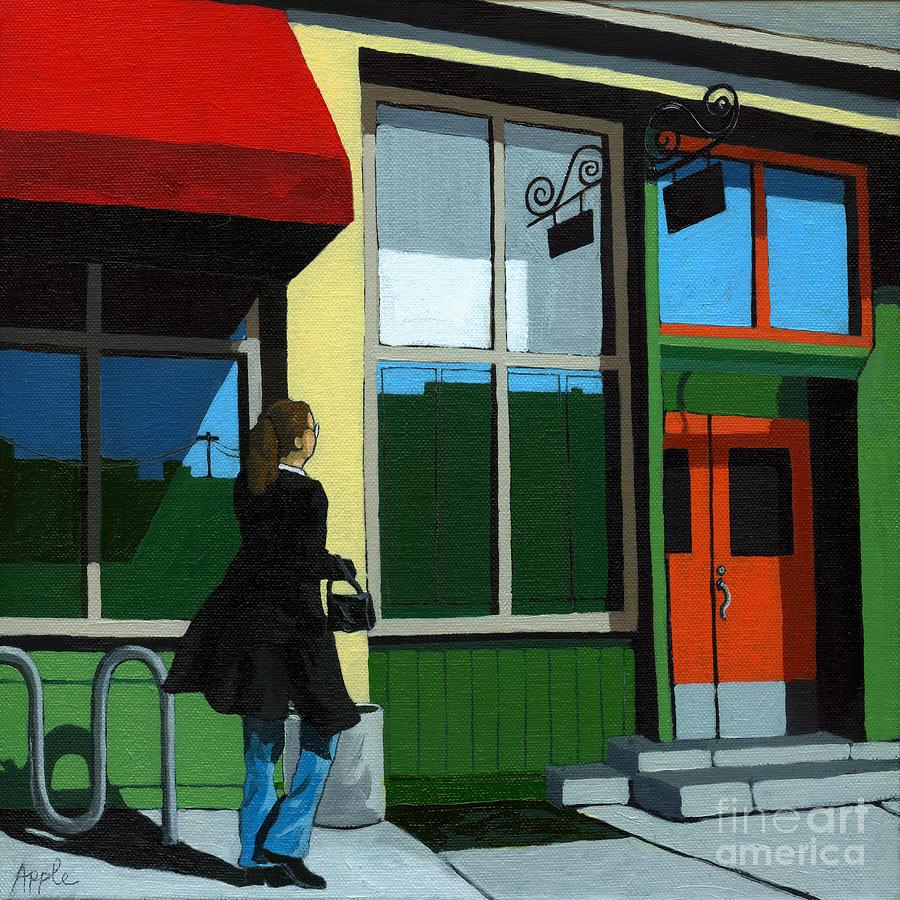 Back Street Grill - Urban Art Painting