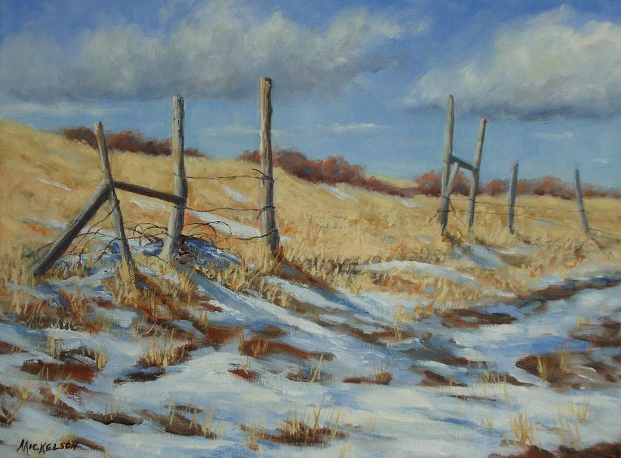 Back To Open Range Painting  - Back To Open Range Fine Art Print