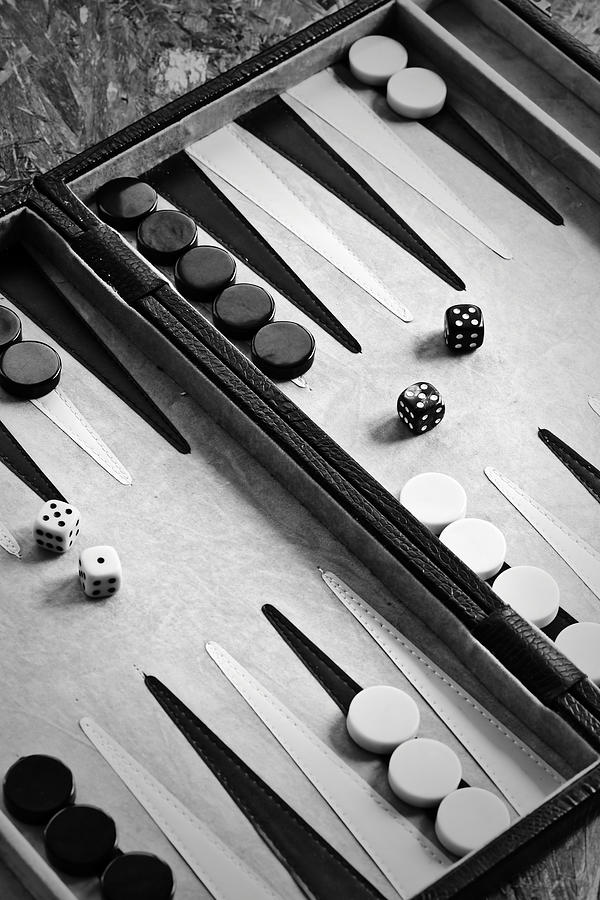 Backgammon Photograph  - Backgammon Fine Art Print