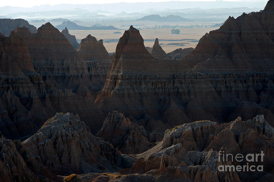 Badlands National Park Photograph - Badland Horizons by Chris  Brewington Photography LLC