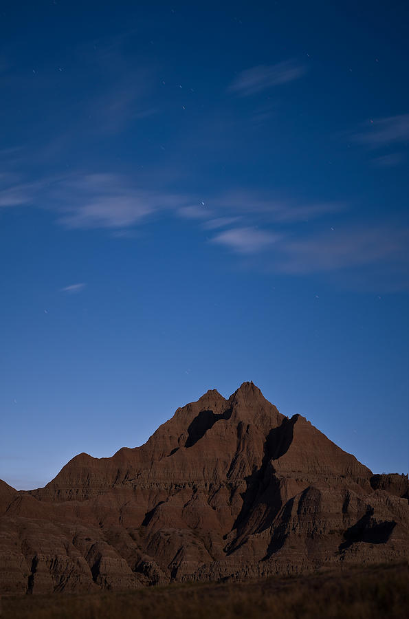 Badlands Night Photograph