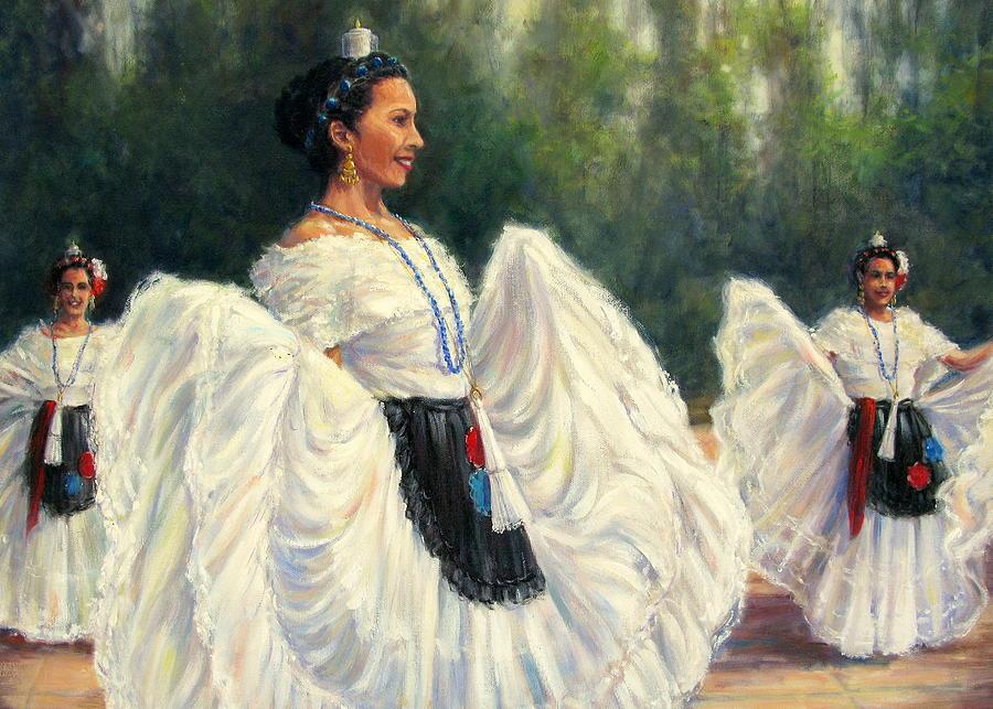 Baile De Las Velas - Candle Dance Painting