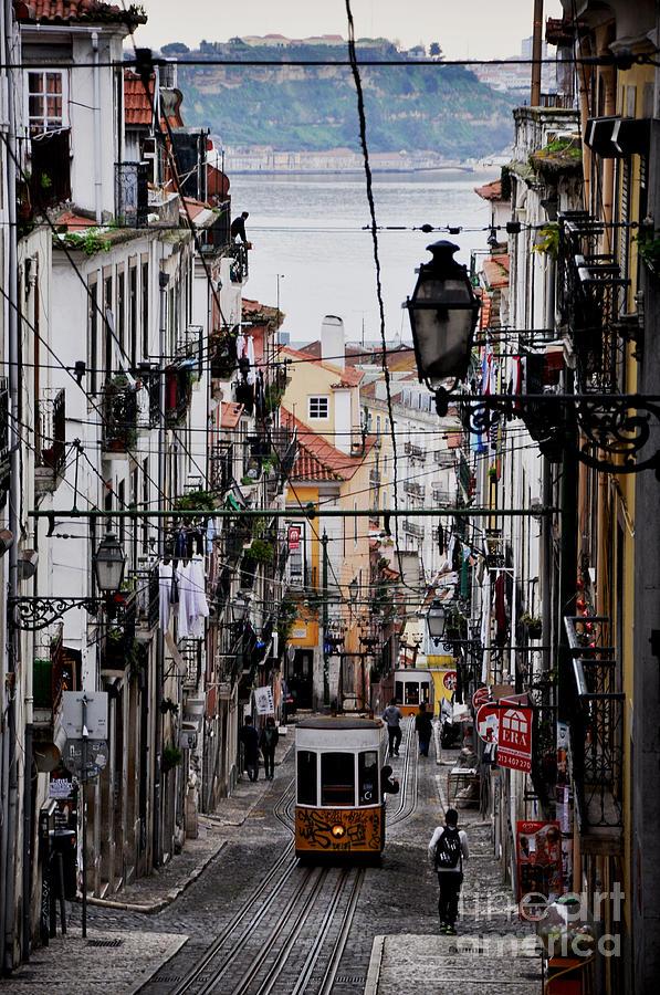 Bairro Alto - Lisbon Photograph