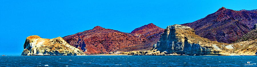 Baja Coastline Photograph