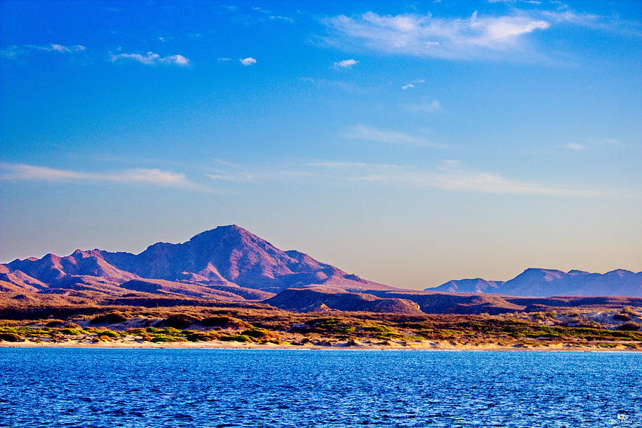 Sea Of Cortez Photograph - Baja Mountains by Russ Harris