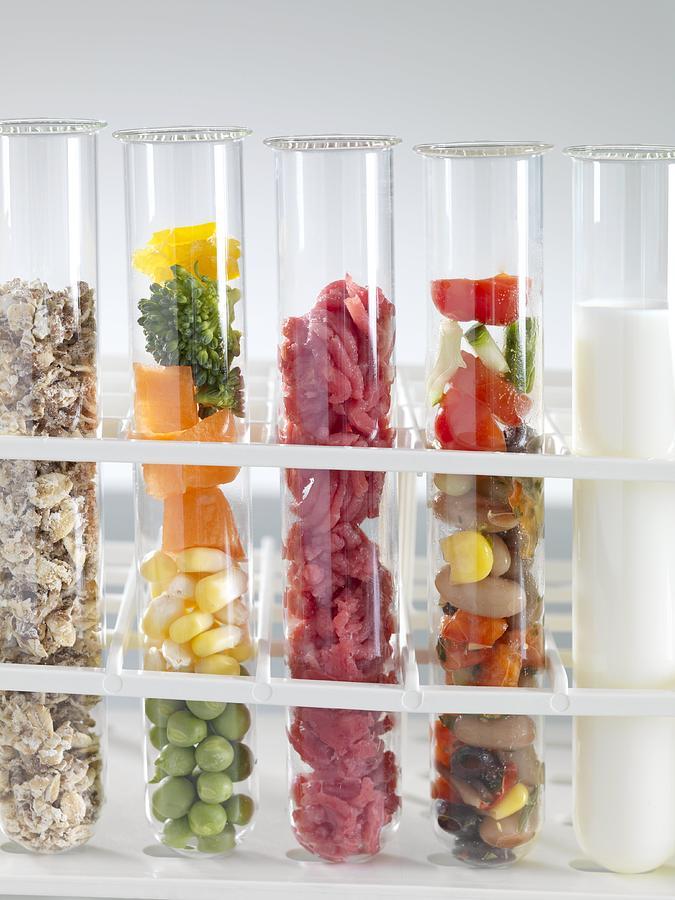 Equipment Photograph - Balanced Diet by Tek Image