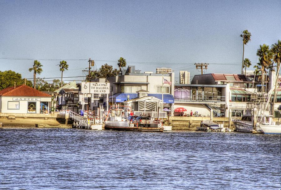 Balboa Island Photograph
