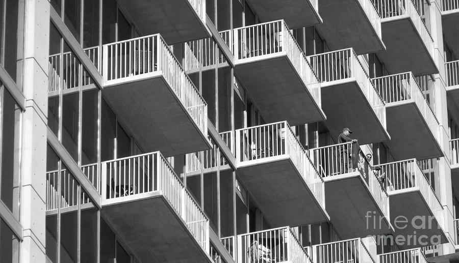 Balcony Colony Photograph  - Balcony Colony Fine Art Print