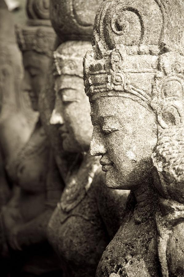 Bali, Indonesia, Asia Stone Statues Photograph