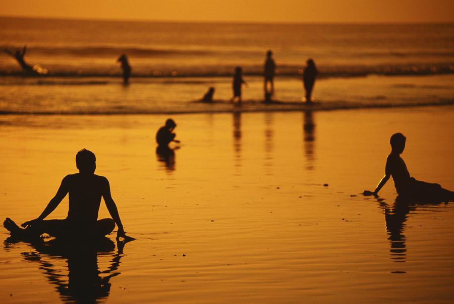 Bali, Kuta Beach Photograph