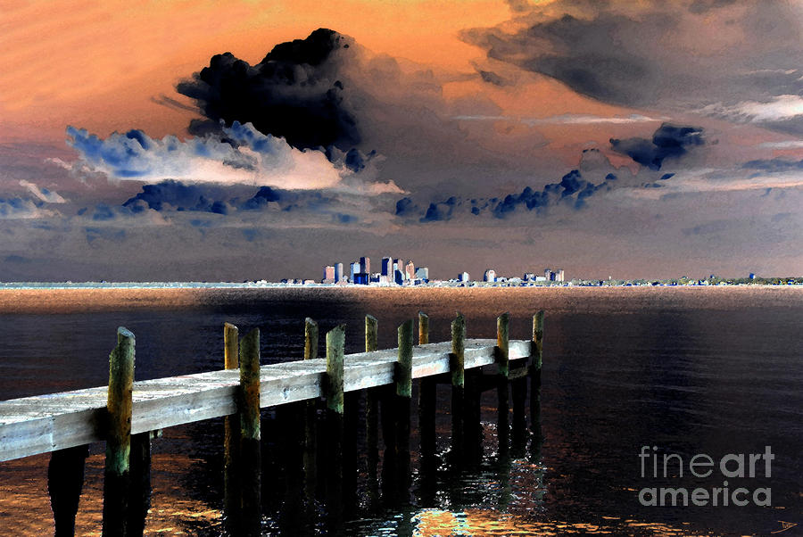 Ballast Point Painting  - Ballast Point Fine Art Print