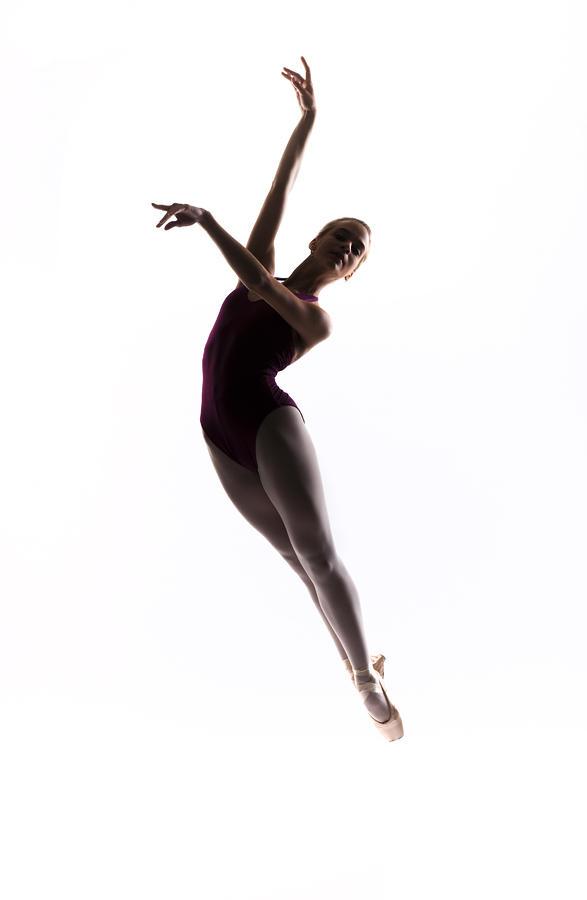 Ballerina Jump Photograph