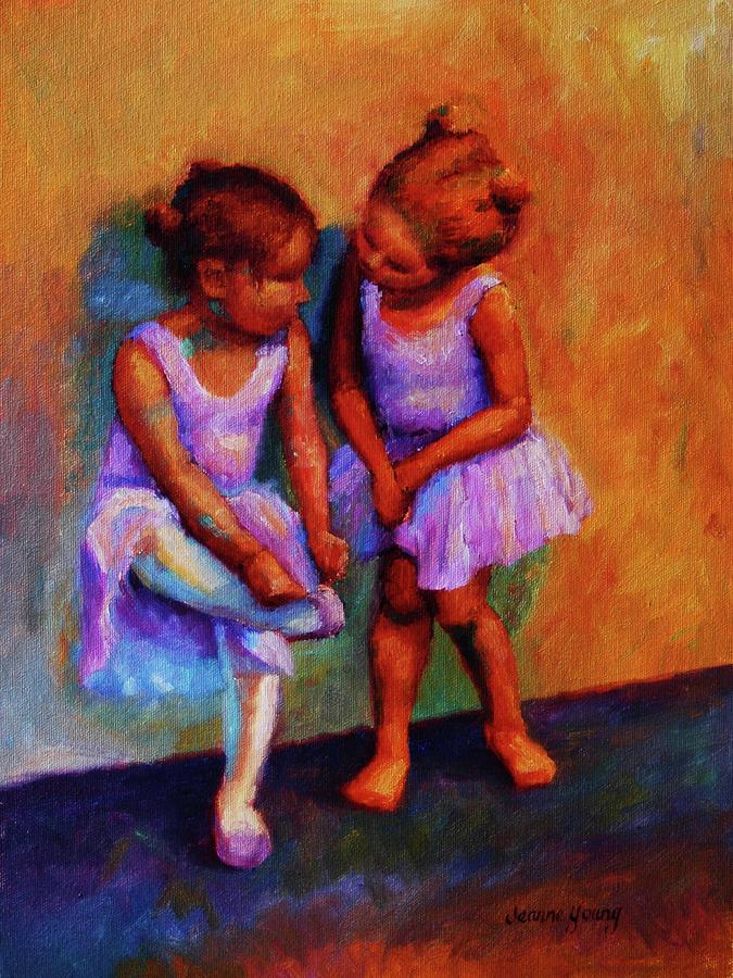 Ballerina Secrets Painting