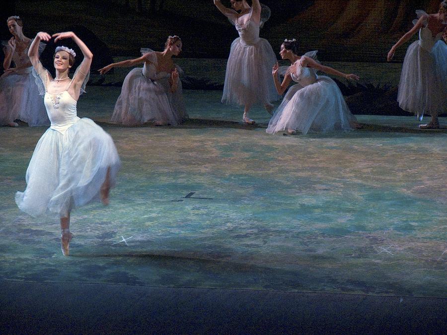 Ballerinas At The Vaganova Academy Photograph