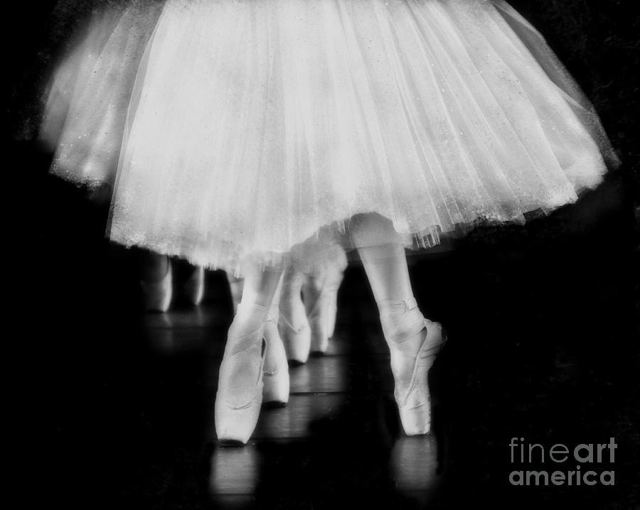 Ballet Black And White Photograph