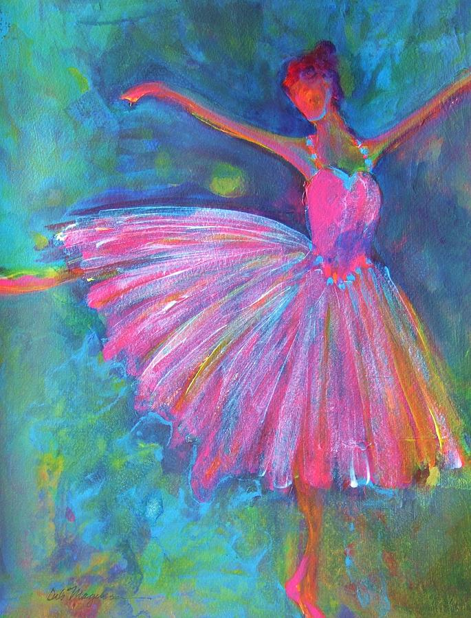 Ballet Bliss Painting  - Ballet Bliss Fine Art Print