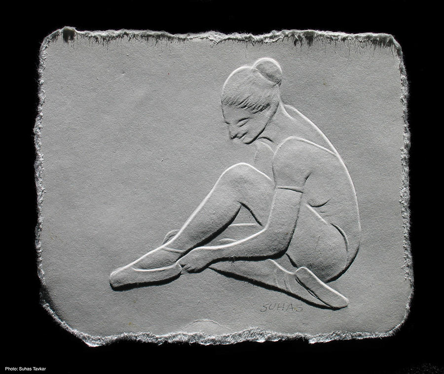 Ballet Dancers Relief - Ballet Dancer by Suhas Tavkar