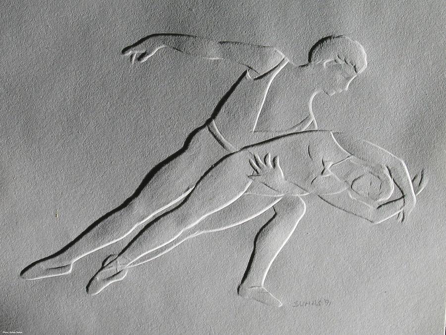 Ballet Dancers Relief