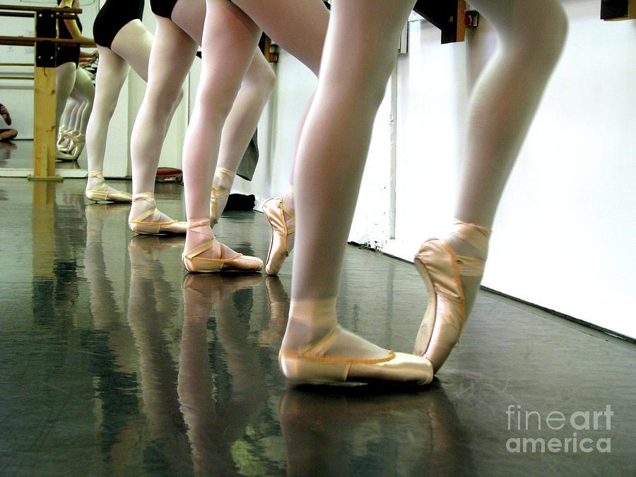 Ballet In Studio Photograph