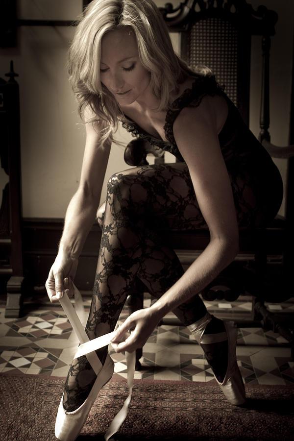 Ballet Pointe Photograph